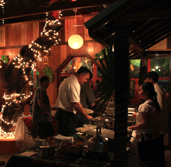 Elvi's Kitchen offers a Friday night Mayan Buffet that is worth a visit.