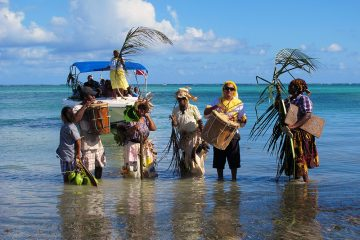 Garifuna Settlement Day in Hopkins, Belize
